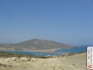 Pohled z ostrůvku prasonisi na slévající se moře